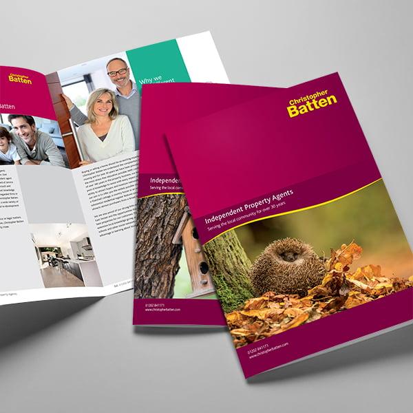 Brochures & Print - Commercial Graphic Design