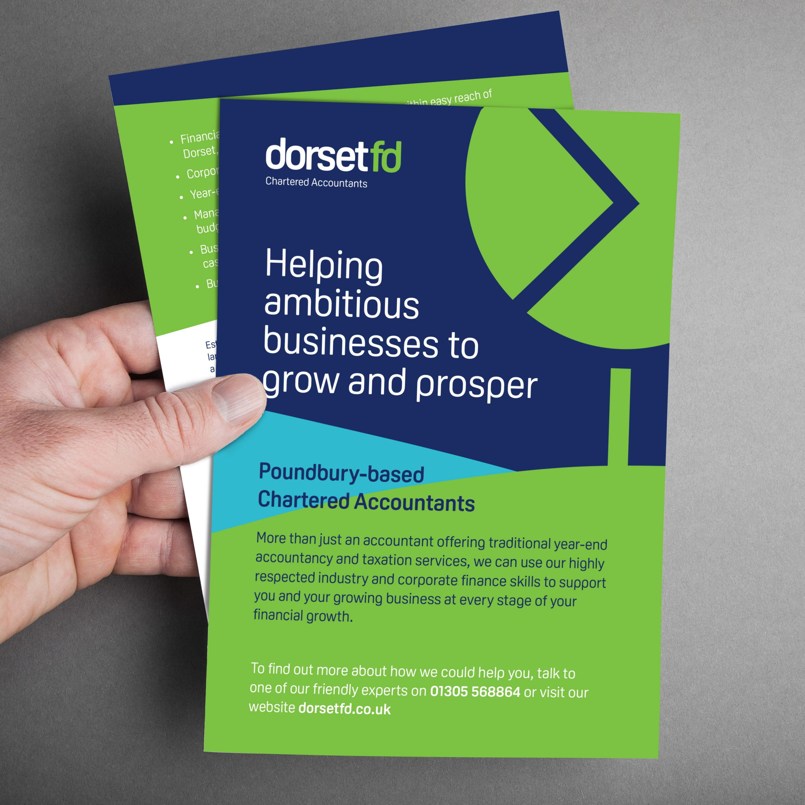 leaflet design for Dorsetfd