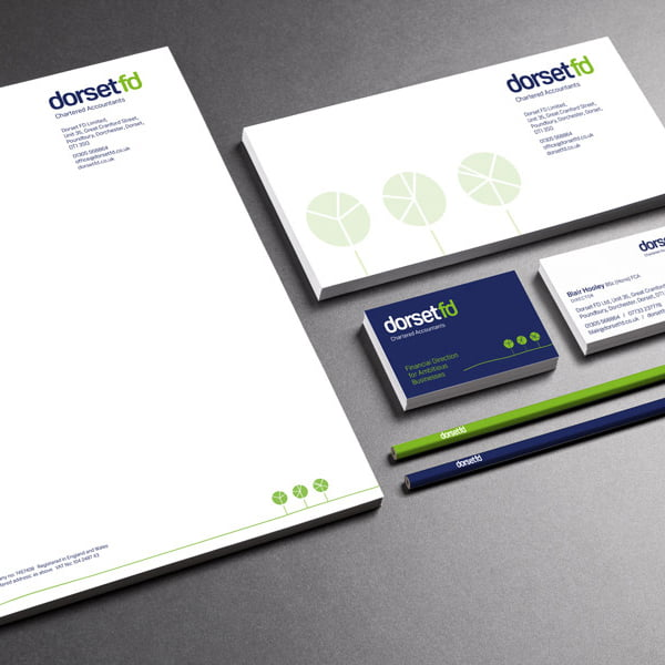 brand design stationery