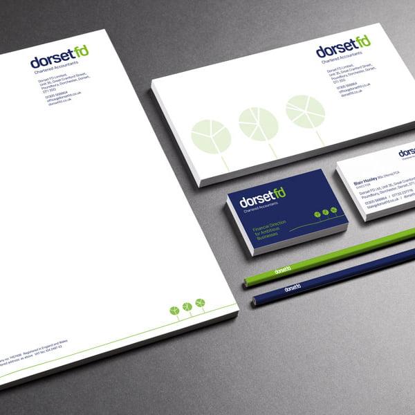 brand design stationery