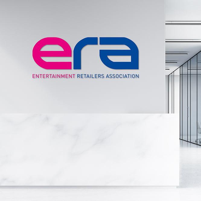 Logo design office signage ERA