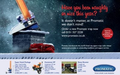 Christmas Advertising for Promatic