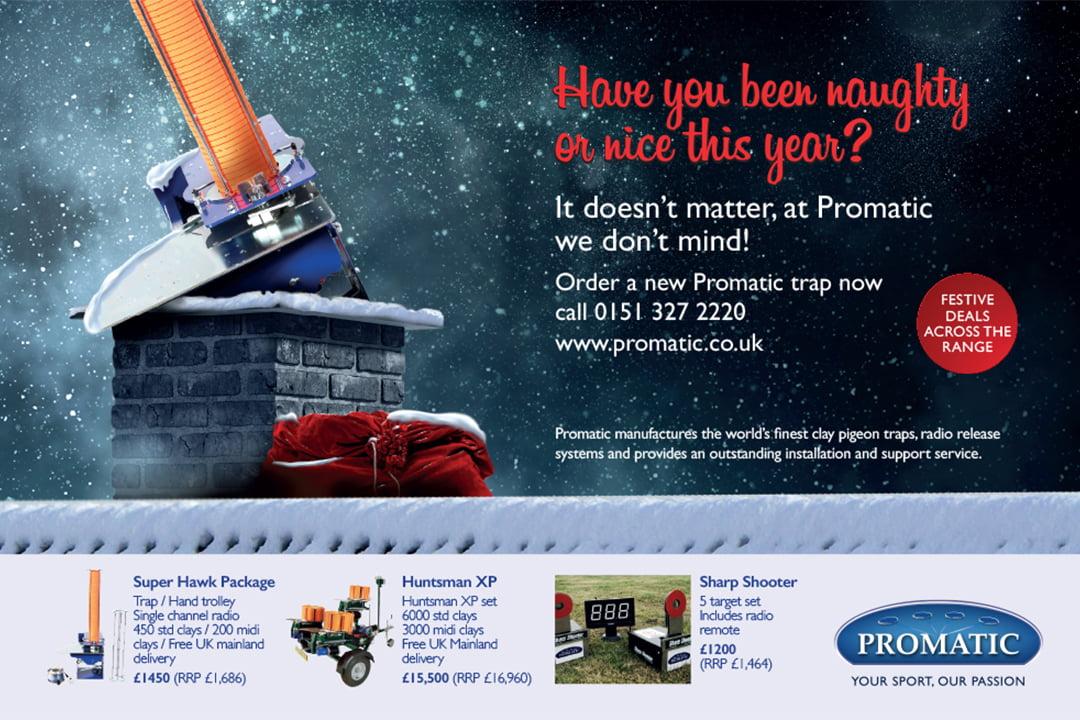 Advertsing design for promatic