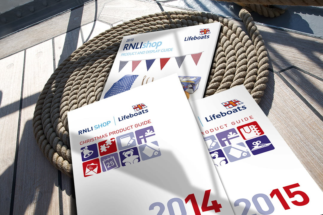 RNLI design catalogues