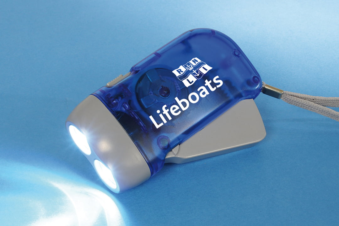 RNLI torch product photography