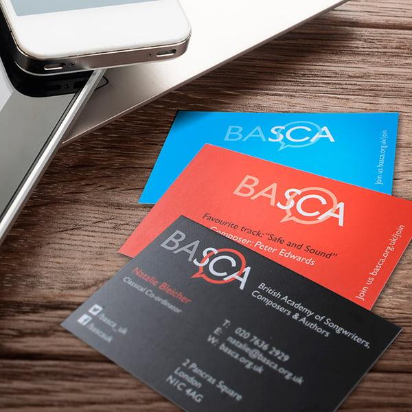 Basca business card design