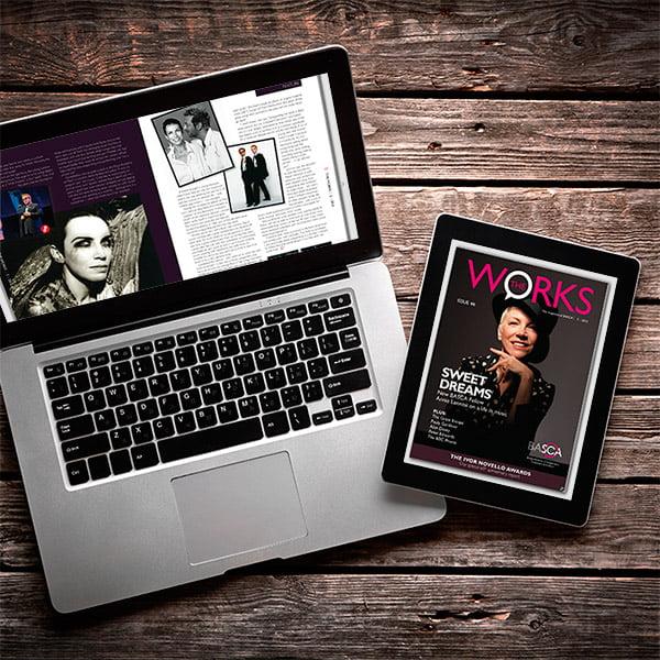 The Works emagazine digital design