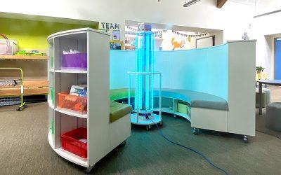 Product Photography – Violegen HEXAgone® UV-C Room Sterilisers