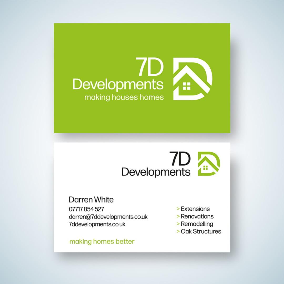 FSC business card design