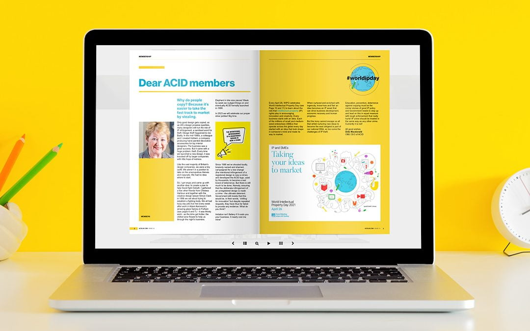 ACID Newsletter Design