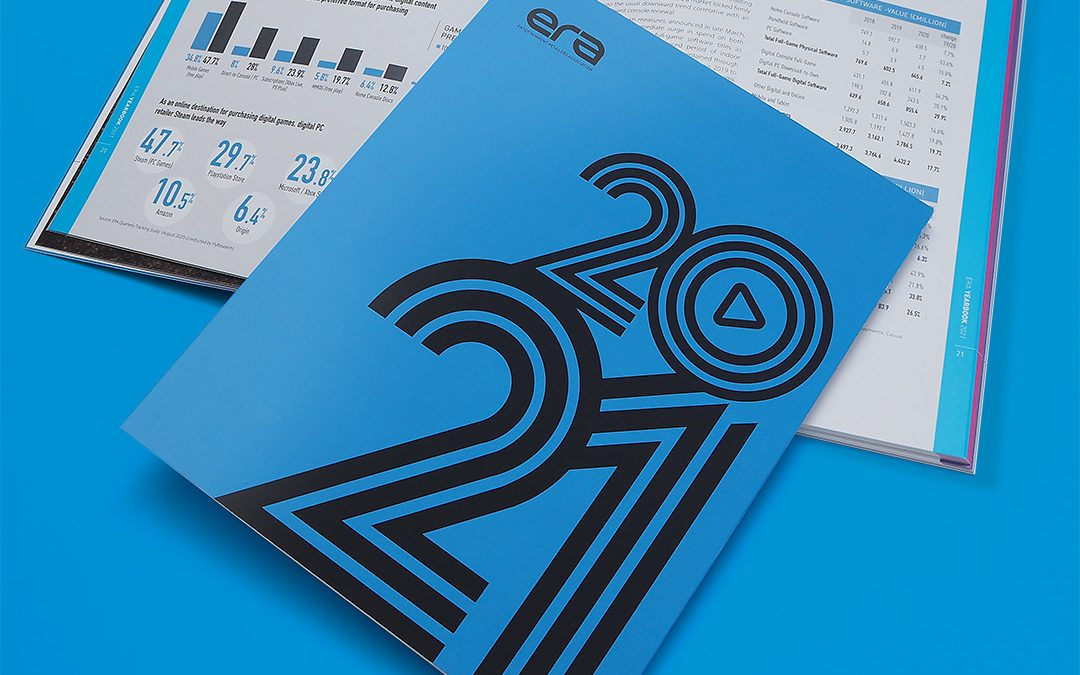 2021 Entertainment Retailers Association Yearbook Design