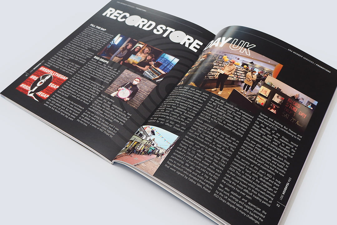 Recordstoreday page layout 2021